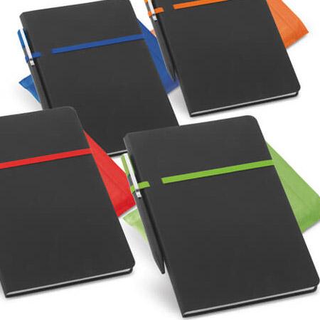 Caderno em Couro Sintético Personalizado