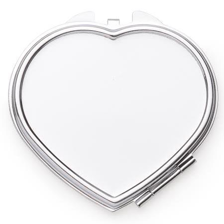 Espelho de Bolsa Personalizado Modelo Coração