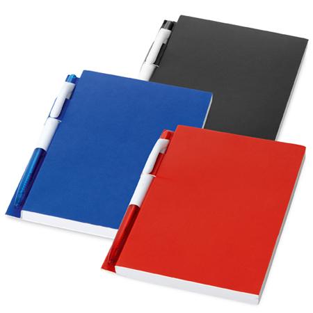 Caderno Personalizado com Caneta