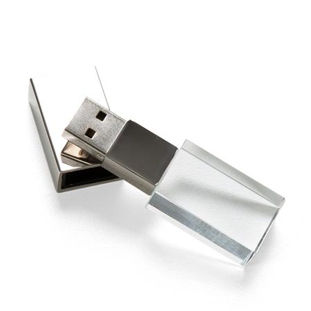 Pen Drive de Vidro Personalizado