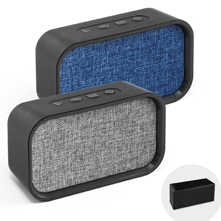 Caixa de Som Personalizada com Microfone