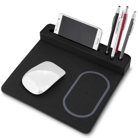 Mouse Pad com Carregador por Indução Personalizado