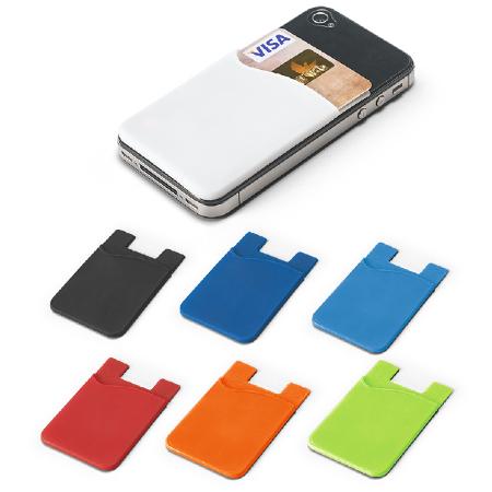 Porta cartão de silicone para Smartphone Personalizado