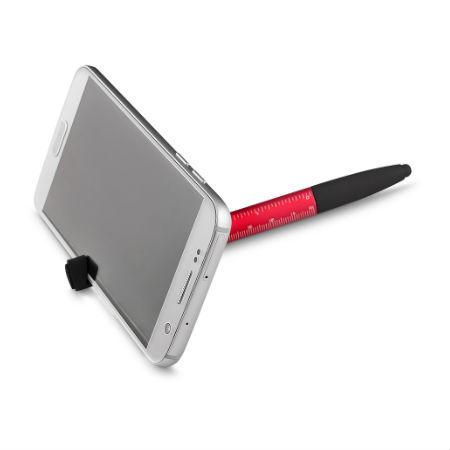 Caneta de Metal touch com Porta Celular Personalizada