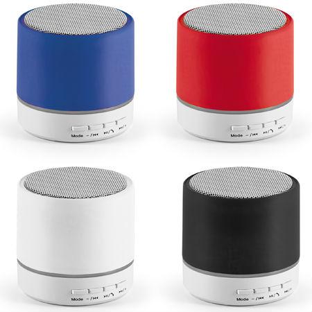 Caixa de Som Portátil com Microfone