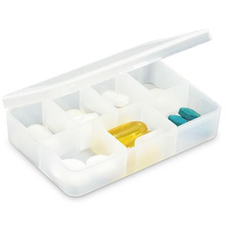 Porta Comprimidos com 7 Divisórias
