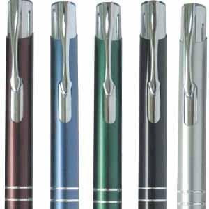 Conjunto Promocional de Caneta e Lapiseira em diversas cores