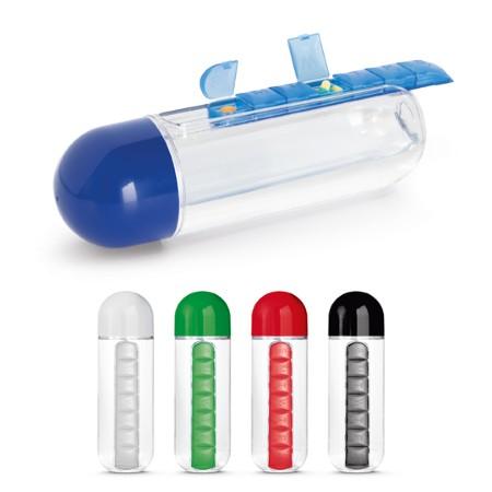 Squeeze com Porta Comprimidos