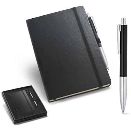 Kit de Caderno e Esferográfica para Brindes