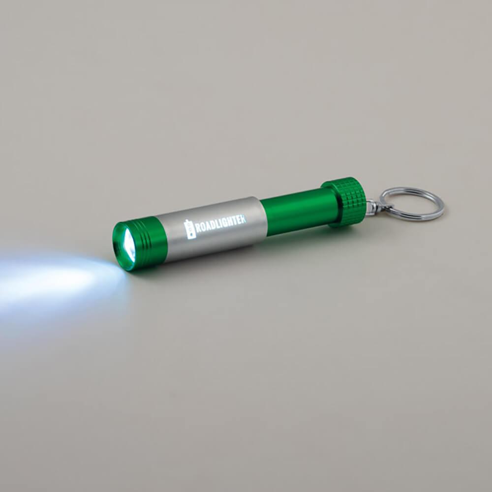 Chaveiro Lanterna Led em Alumínio Personalizado