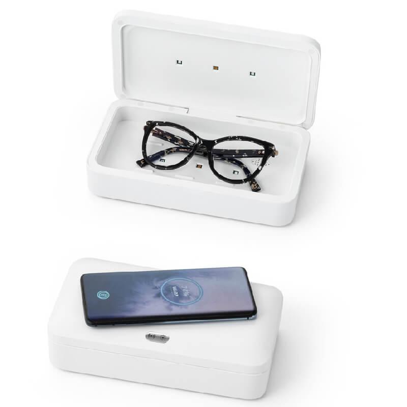 Caixa Esterilizadora UV com Carregador Wireless Fast