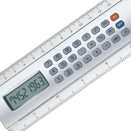 Régua com Calculadora Promocional
