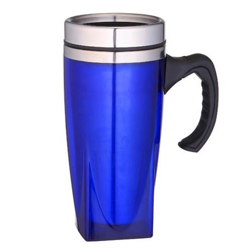 Caneca 450 ml para Brinde com Tampa Metálica