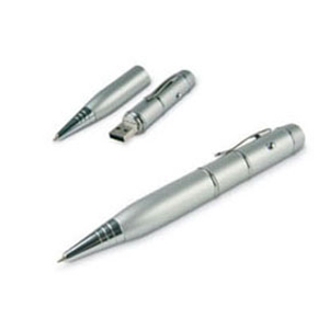 Caneta Pen Drive 2GB Silver
