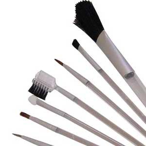 Conjunto Maquiagem com Sete peças para Brinde
