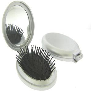 Espelho de Bolsa com Escova Personalizado