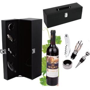 Maleta Vinho Promocional com Acessórios