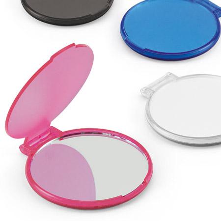 Espelho de Bolso Circular Feminino e Personalizado