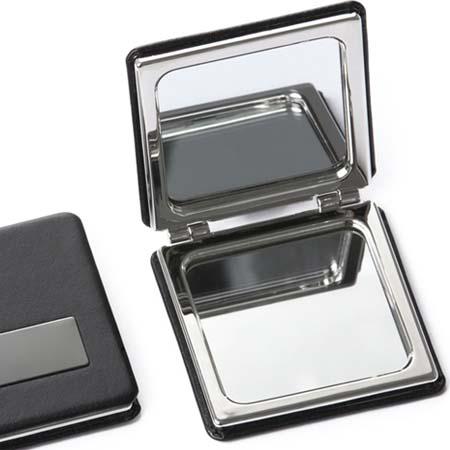 Espelho Duplo de Bolso Personalizado