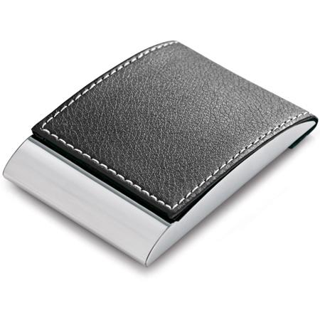 Porta cartão personalizado em couro sintético
