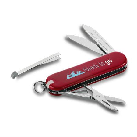 Canivete de Metal Personalizado com 5 Funções
